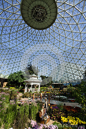 Geodesic Glass Greenhouse