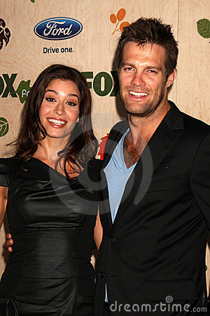 Geoff Stults, Mercedes Masohn Editorial Stock Image