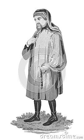 Geoffrey Chaucer Editorial Image