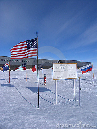 Geographic and Ceremonial South Pole
