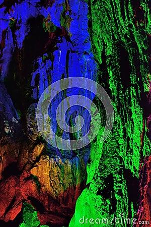 Geologic feature of YuHua Cave, Fujian, China