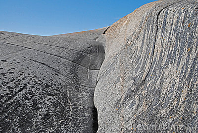 Geologic rock formation