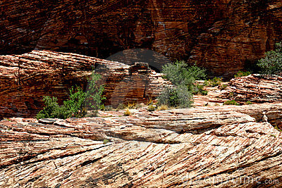 Geologic rock formations