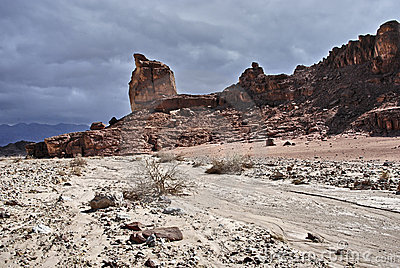 Geological stones of Park Timna