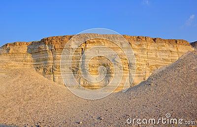 Geology Earthquake Layers, Israel