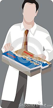 Geology illustration series