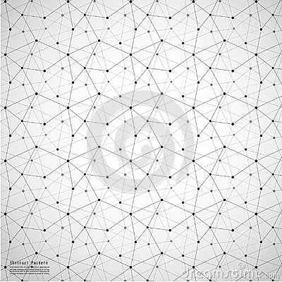 Free Geometric Abstract Background With Connected Line And Dots Patterns. Royalty Free Stock Photos - 99263698