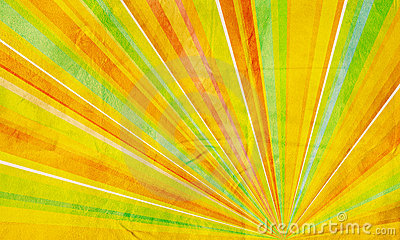 Geometric abstract background yellow orange green