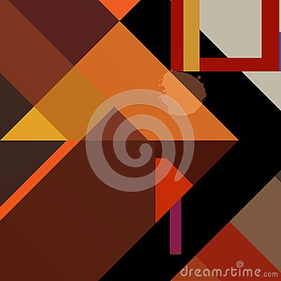 Geometric background,