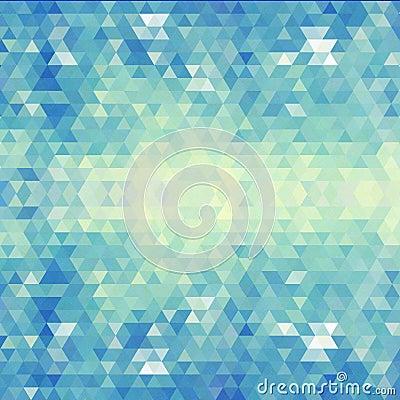 Free Geometric Blue Pattern. Vector Illustration. EPS 10 Stock Photo - 37253900