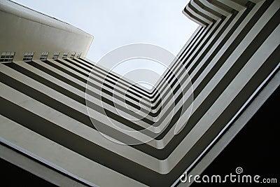 Geometric building