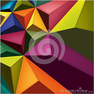 Free Geometric Colour Background Royalty Free Stock Photos - 39446908