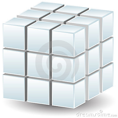 Free Geometric Cube Stock Photos - 14591963