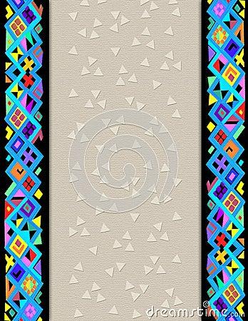 Free Geometric Folk-art Border Stock Images - 1989684