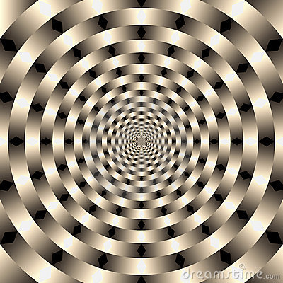 Geometric illusions background