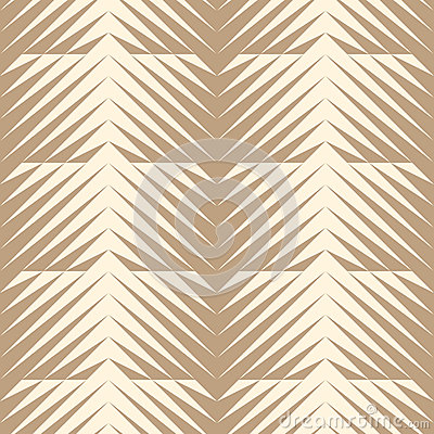 Geometric jagged edge seamless pattern. Cartoon Illustration