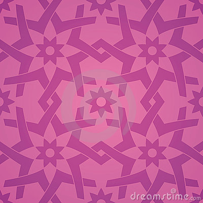 Free Geometric Love Flower Seamless Pattern Royalty Free Stock Photo - 16350695