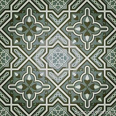 Free Geometric Oil Paint Decorative Seamless Pattern Royalty Free Stock Photos - 19650998