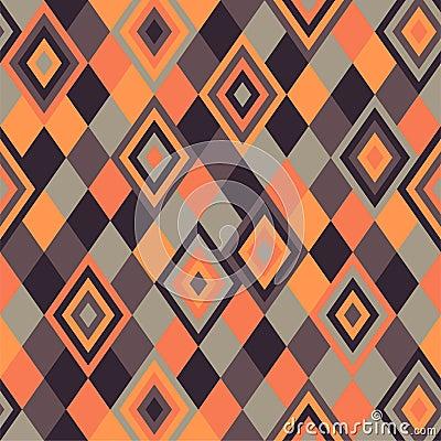 Geometric pattern - rhombus