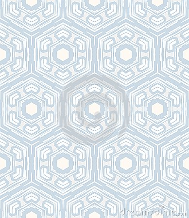 Geometric Pattern Similar To 50s And 60s Design Stock Image
