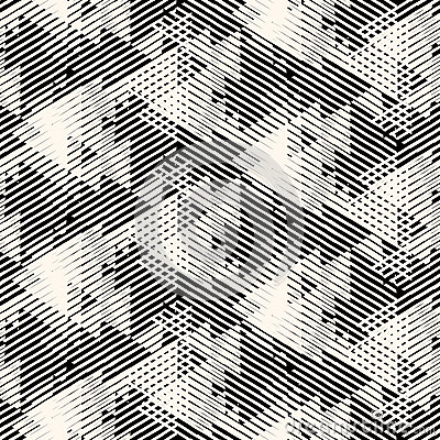Free Geometric Pattern With Striped Triangles Royalty Free Stock Photography - 72779307