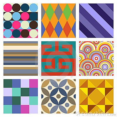 Geometric Patterns Set 4
