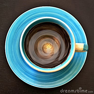 Free Geometric Patterns - Top View Of The Circulating Coffee In A Circular Cup Stock Photos - 119398523