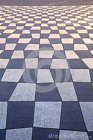 Geometric pavement