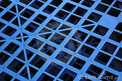 Geometric plastic pattern