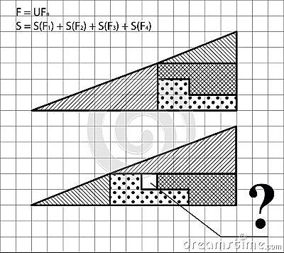 Geometric problem - test for intelligence