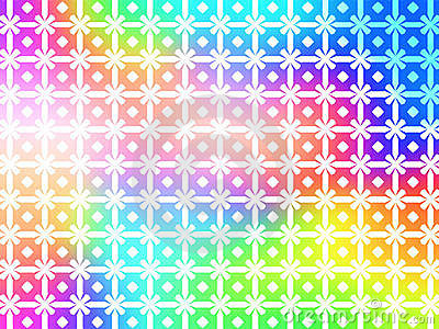Geometric Rainbow Background wallpaper