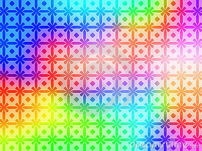 Geometric Rainbow Pattern Background wallpaper