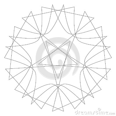 Free Geometric Set Stars And Flowers For Gifts And Holidays Pattern Vector EPS10 Royalty Free Stock Images - 111066679