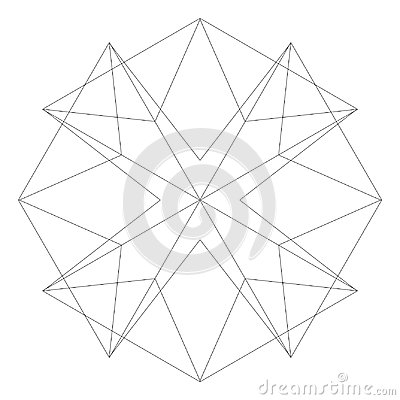 Free Geometric Set Stars And Flowers For Gifts And Holidays Pattern Vector EPS10 Royalty Free Stock Images - 111066849