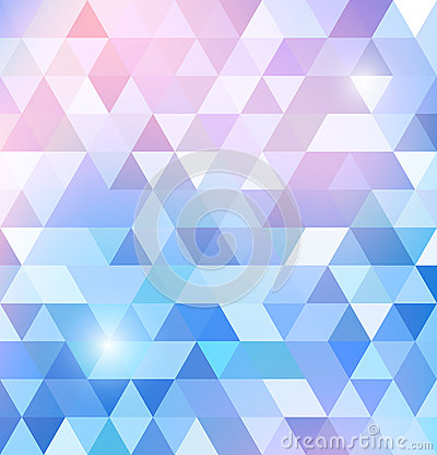 Free Geometric Shining Pattern With Triangles Royalty Free Stock Photography - 34441267