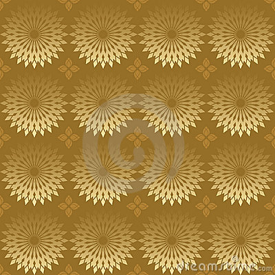 Geometric vector texture with round elements