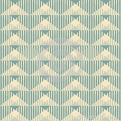 Geometric wallpaper pattern seamless background