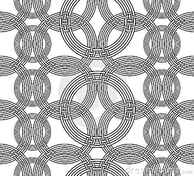 Geometrical seamless pattern Vector Illustration