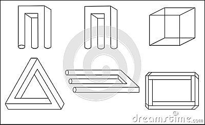 Geometrische Illusion