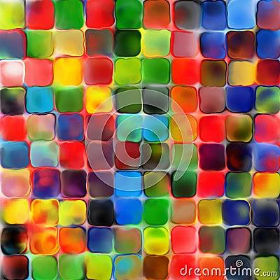 geometrischer hintergrund pallette abstrakte des regenbogens bunte farbe der fliesen mozaic. Black Bedroom Furniture Sets. Home Design Ideas