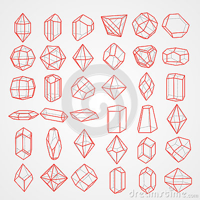 Geometry figures Vector Illustration