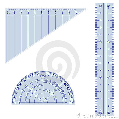 Free Geometry Kit Stock Image - 6972261