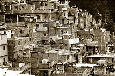 Geometry of Rio Favelas