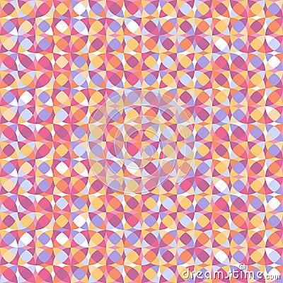 Geometryczny bezszwowy wzór