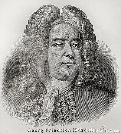 Free Georg Friedrich Handel Stock Photos - 20464073