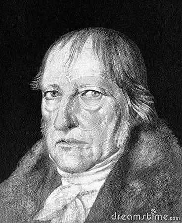 Georg Wilhelm Friedrich Hegel Editorial Photography