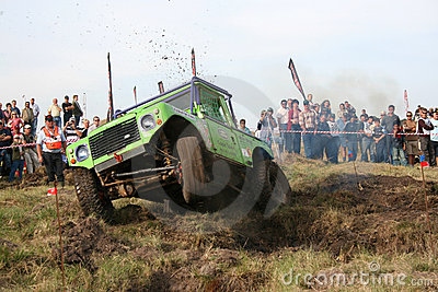 George 4x4 Extreme Regionals Editorial Stock Photo