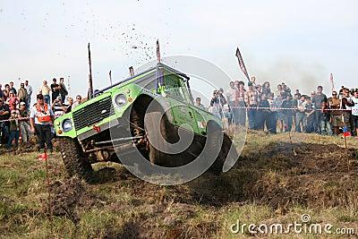 George 4x4 Extreme Regionals Editorial Stock Photo