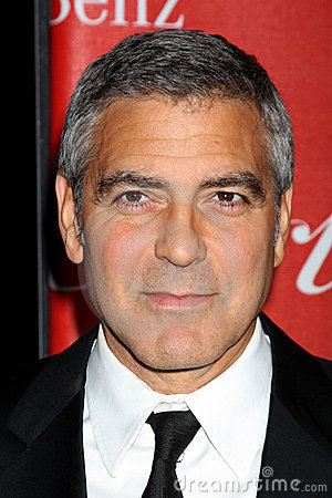 George Clooney Editorial Photography