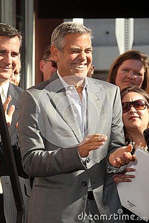George Clooney, John Wells Editorial Photography